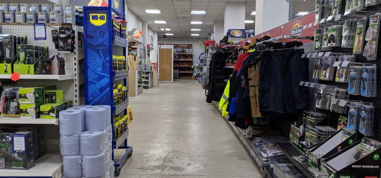 Turnbull Sleaford Builders Merchant Inside