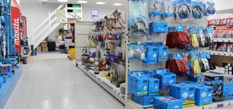 Spacious store environment