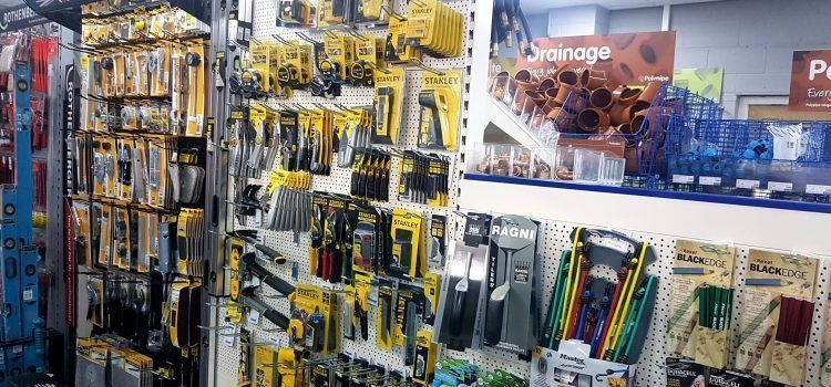 Wide range of tools in stock
