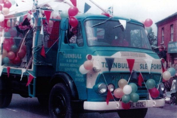 Turnbull lorry from the 1970s