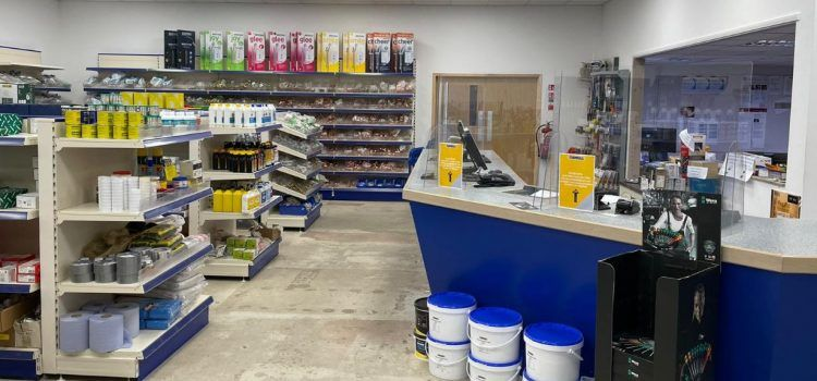 Sleaford Plumbing store counter
