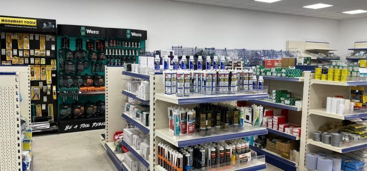 Sleaford Plumbing store - products in stock