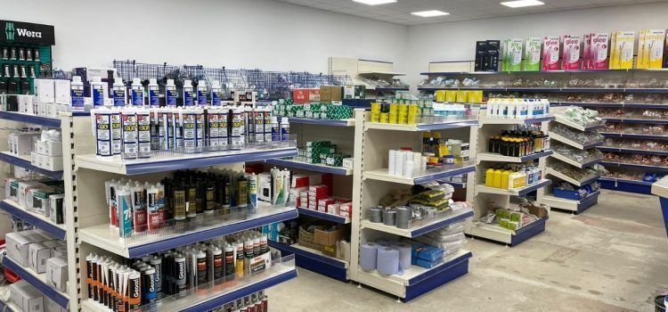 Turnbull Sleaford Plumbing supplies in branch
