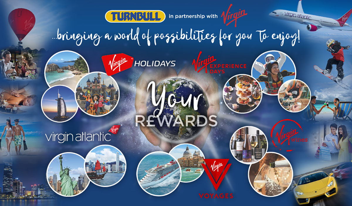 Turnbull Rewards with Virgin