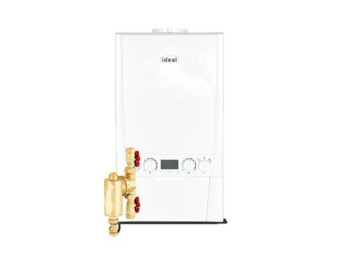 Ideal Logic Max Combi Boiler 35Kw with Filter Pack
