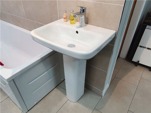 Durastyle Basin & Pedestal Suite 1TH [500mm x 440mm]