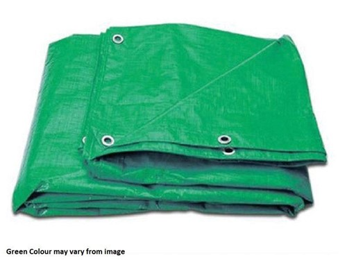 Turnbull Green Tarpaulin 3.6m x 5.4m