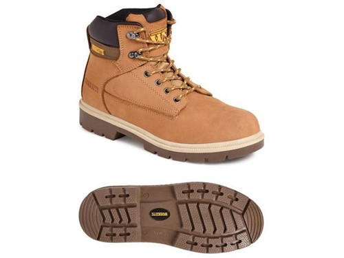 Worksite Wheat Nubuck Safety Boot UK 8