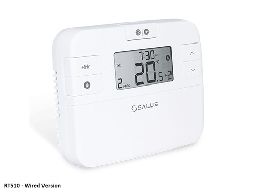 Salus RT510Plus Programmable Digital Room Theromostat