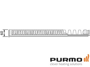 Purmo Single Convector Radiator Type 11 [450 x 800mm]
