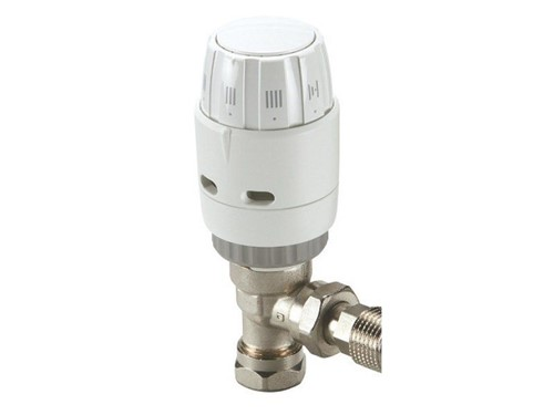 Danfoss RAS-C2 Reversible Angled TRV with Built-In Sensor [8-10mm]