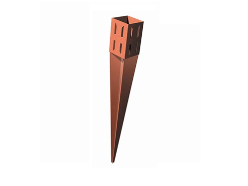 Metpost Fence Post Support Wedge Grip Spike [750mm x 75mm]