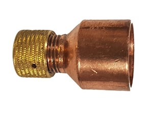 End Feed Copper Air Release Valve Cap 15mm EF61V