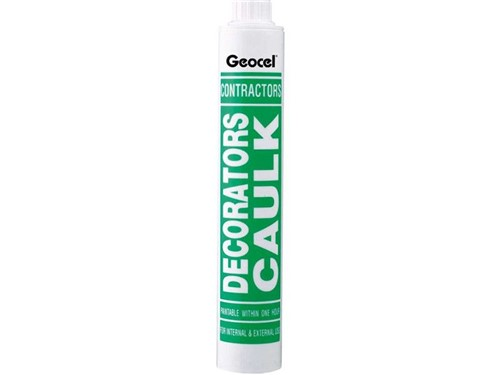 Geocel Decorators Caulk Filler [White]