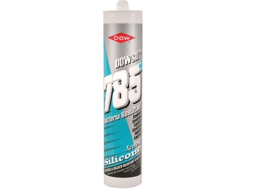 Dow Corning Acetoxy 785 Sanitary Silicone Sealant 310mm [white]