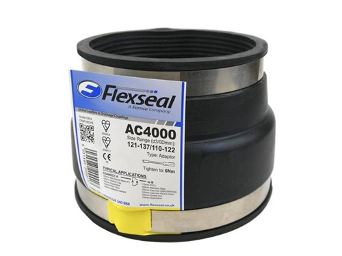 FlexSeal Adaptor Coupling [121-137mm x 110-122mm]