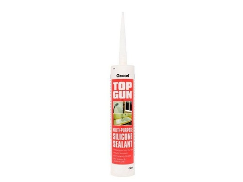 Geocel Top Gun All Purpose Silicone Sealant 310ml [Clear]