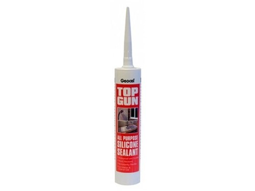 Top Gun Multi Purpose Silicone Sealant 310ml [Black]