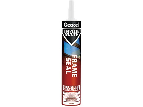 Trade Mate Frame Sealant 310ml [Brown]