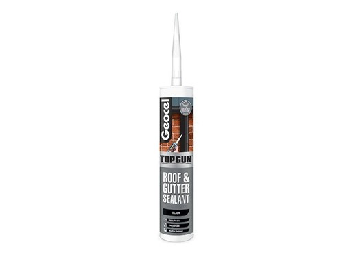 Top Gun Roof & Gutter Sealant 310ml [Black]