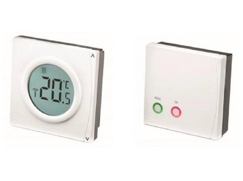 Danfoss Wireless Room Thermostat and RX1-S Receiver [RET2000B-RF]