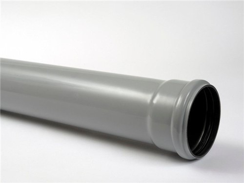 Soil Single Socket Pipe 110mm [White]