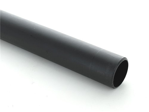 Push Fit Waste Wastepipe 40mm x 3m [Black]