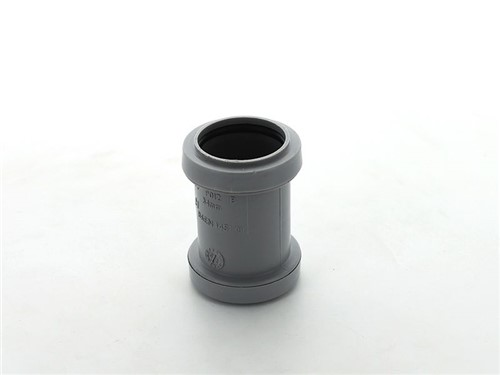 Push Fit Waste Straight Coupling 32mm [Grey]