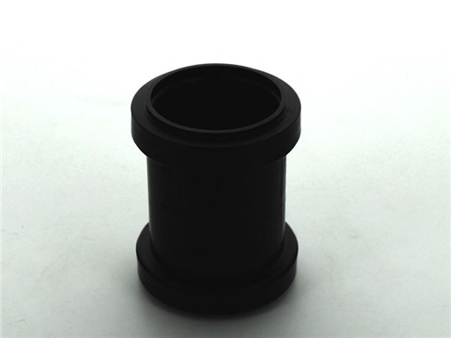 Push Fit Waste Straight Coupling 40mm [Black]