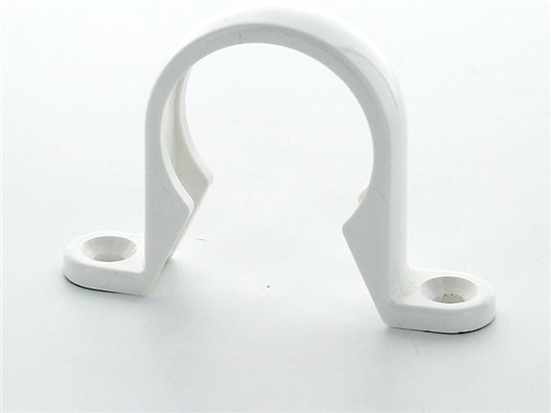 Push Fit Waste Pipe Clip 32mm [White]