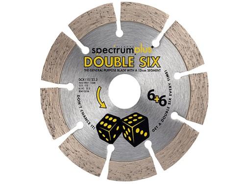 OX Spectrum Plus Double Six Diamond Blade [115mm]