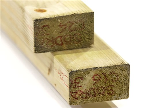 Treated Timber 47mm x 75mm - 4.8m [Green]