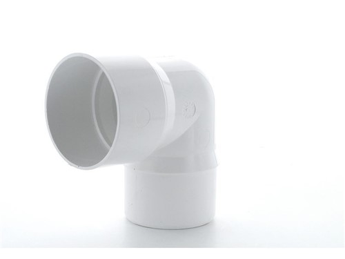 Round Downpipe Bend 68mm x 92.52Deg [White]