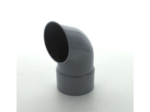Round Downpipe Shoe 68mm [Grey]