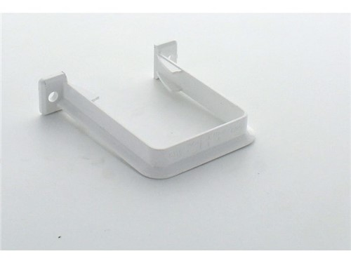 Square Downpipe Bracket 65mm [White]