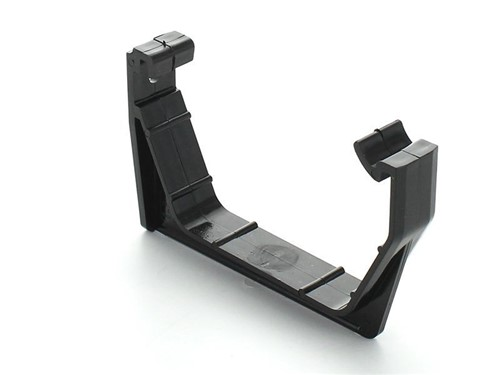Square Gutter Facia Bracket 114mm [Black]