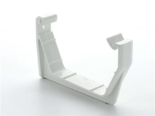 Square Gutter Facia Bracket 114mm [White]