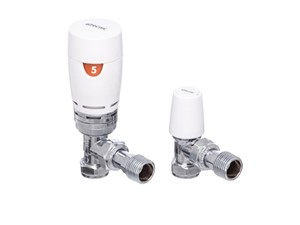 Altecnic Advantage Angled TRV Twin Pack Chrome