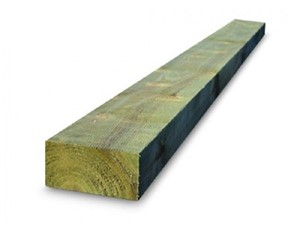 Tanalised Softwood Sleeper 2400 x 200 x 100mm [Green]