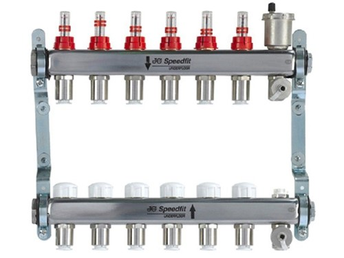 JG Speedfit Underfloor Heating Manifold S/S [2 Zone]