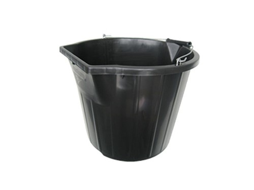 Stadium BB4 Scoop and Pour Bucket 14Ltr [Black]
