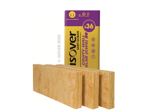 Isover CWS 36 Cavity Wall Insulation 100mm [6.55m2]