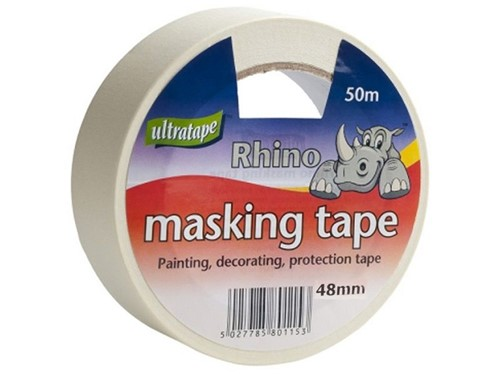 Ultratape Rhino General Purpose Masking Tape 48mm