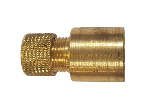 End Feed Brass Air Release Valve Cap 15mm