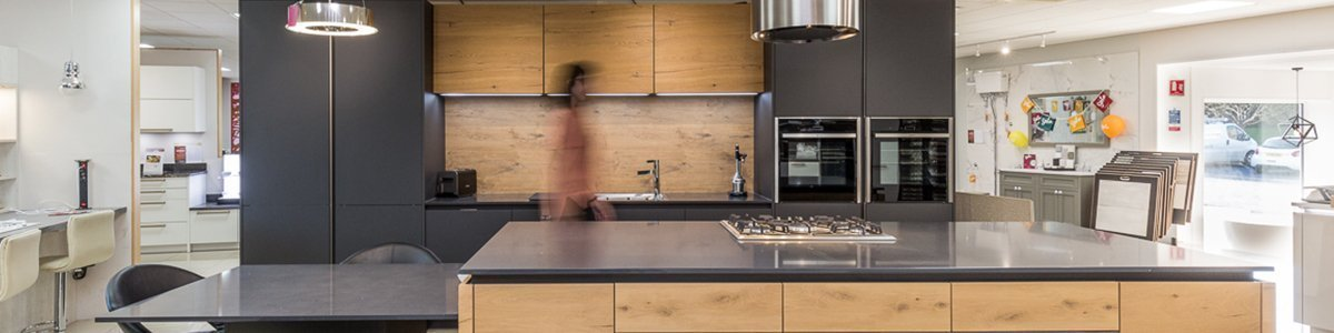 Designer Kitchens available from Turnbull Showrooms