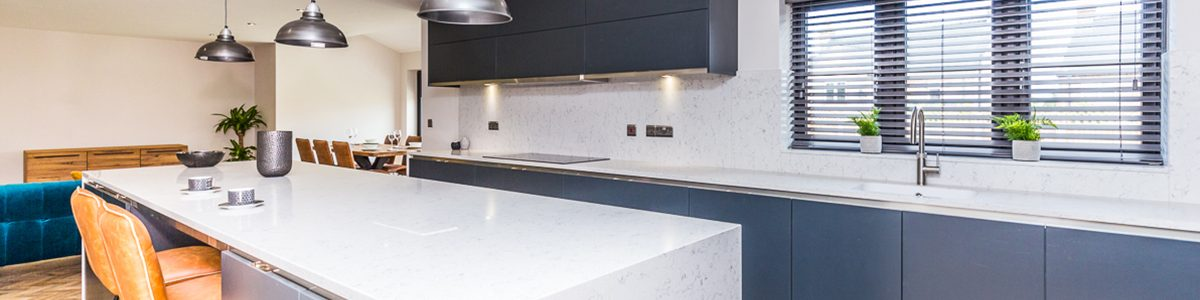 Kitchen Ideas - kitchen islands, bold navy kitchen colours and more