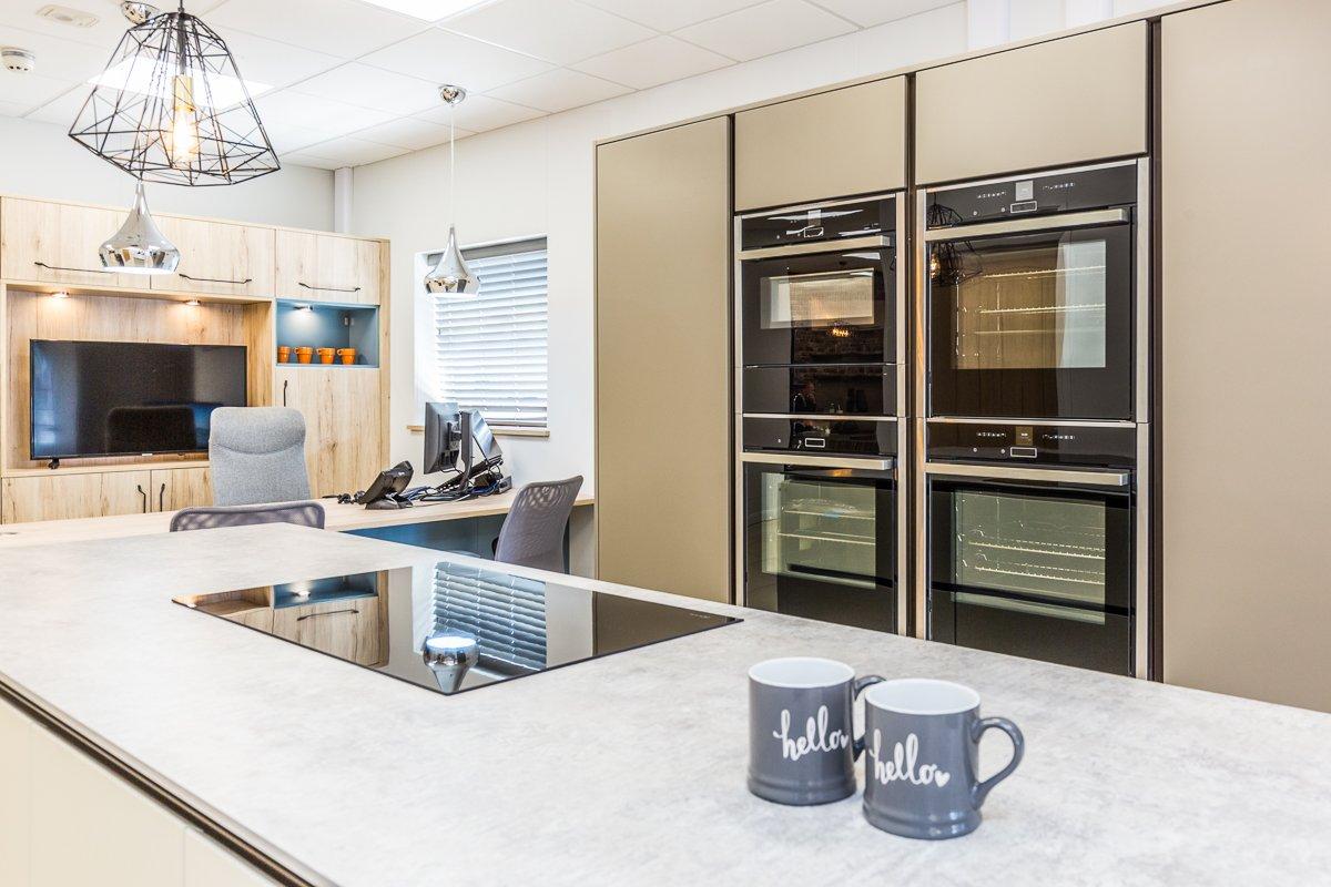Rotpunkt kitchen designed for entertaining