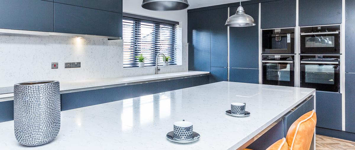 Sheraton kitchen with Quartz worktops