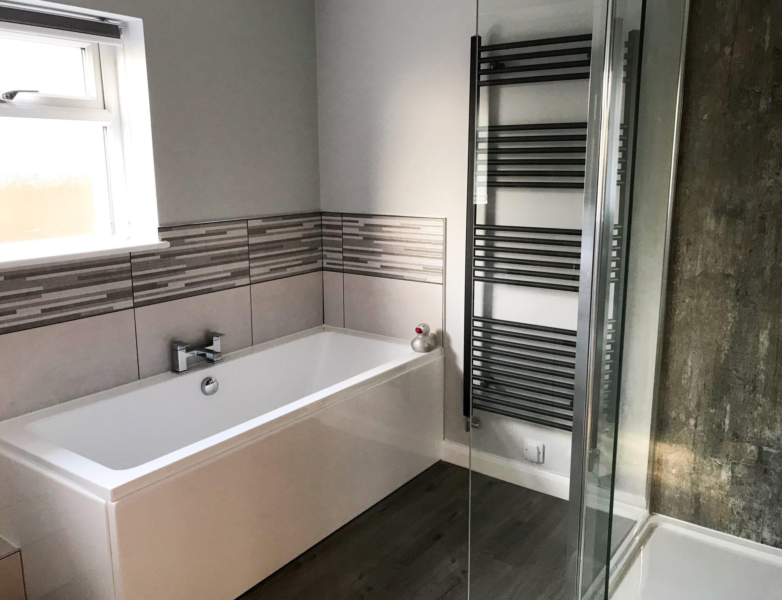 Grey Modern Bathroom