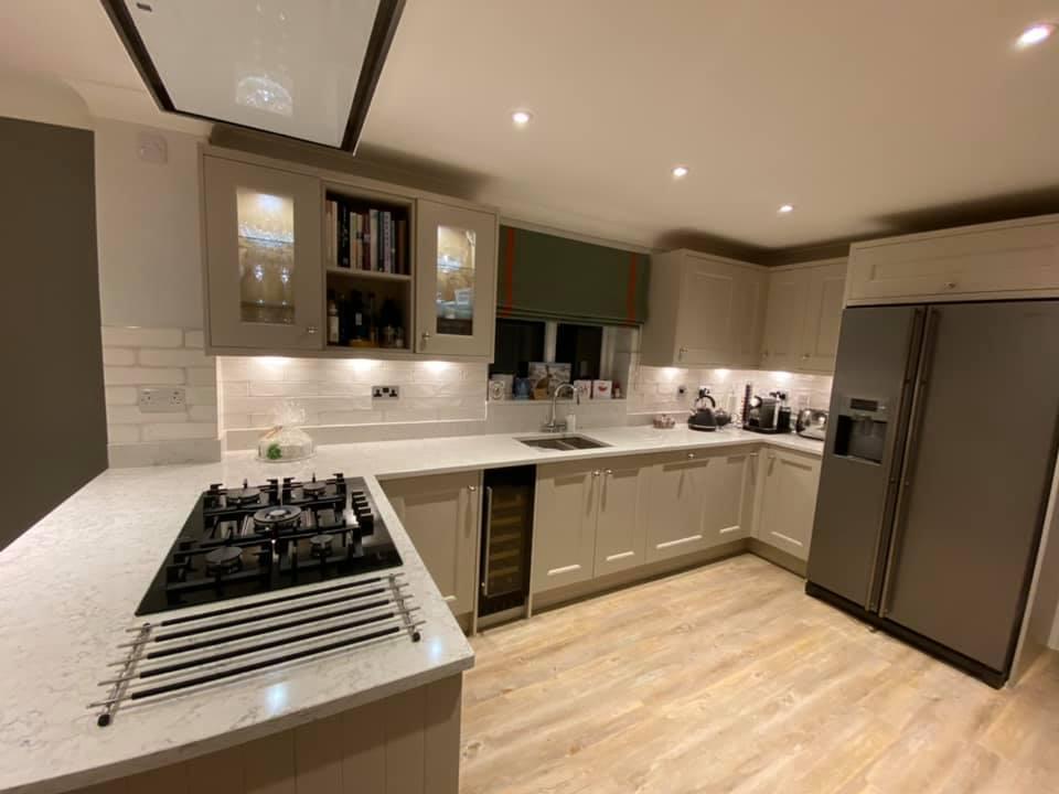 Sheraton Manor House Painted Cashmere kitchen
